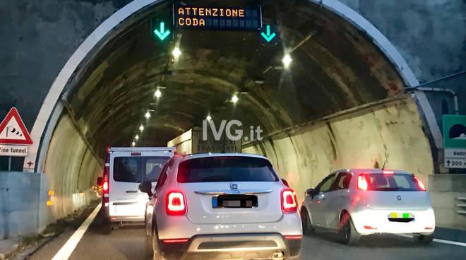 code autostrada lavori generica