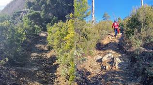 croce rossa alassio soccorso sentiero