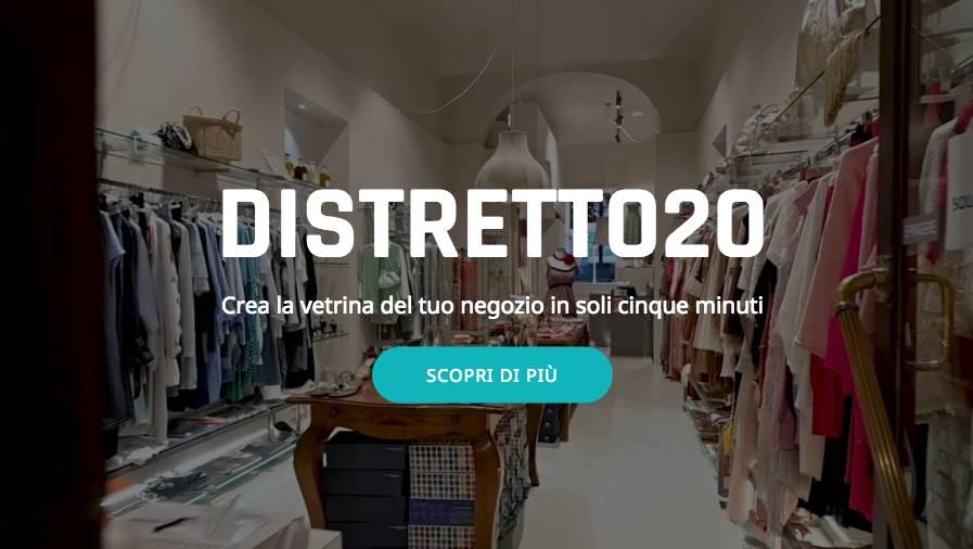 distretto20 confcommercio app