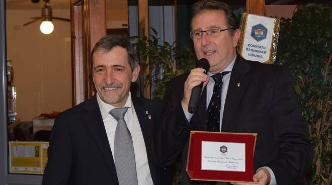 Francesco Ciocca con Roberto Pizzorno