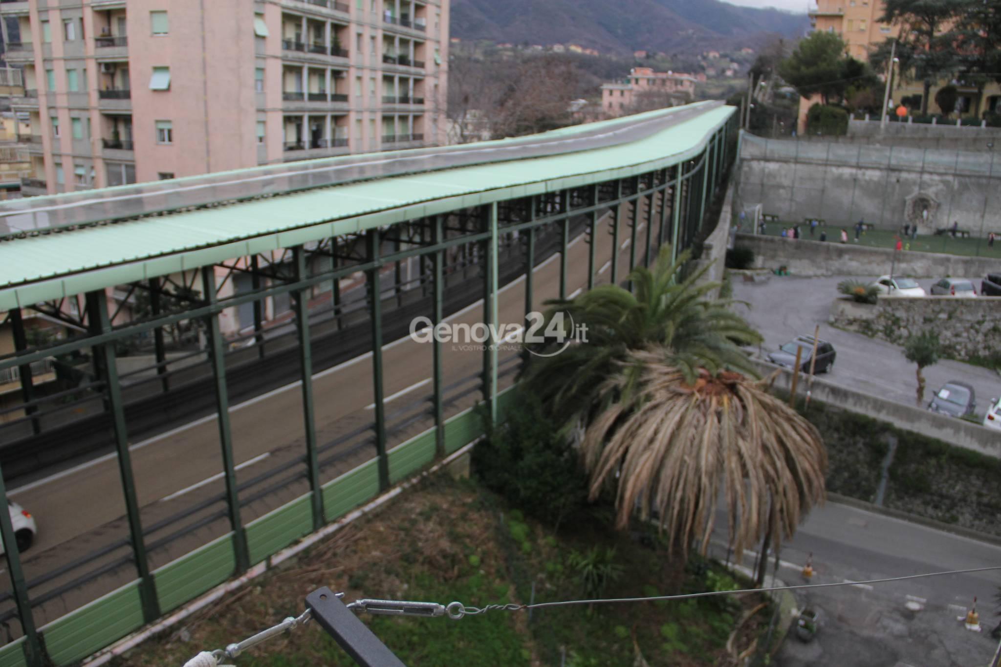 Galleria fonica via Cambiaso Rivarolo