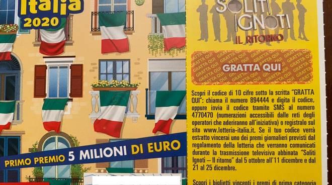 Lotteria Italia 2021