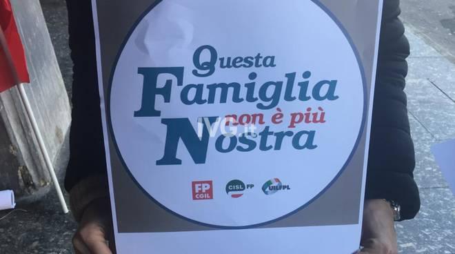 Protesta Famiglia Nostra Varazze