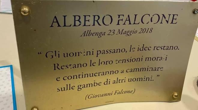 Albenga Targa Falcone Vandali