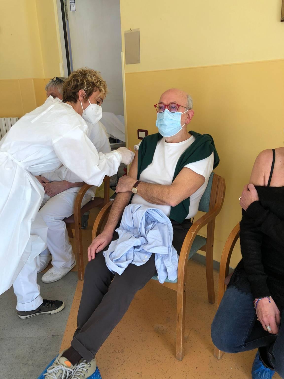 Vaccinazione Trincheri Albenga