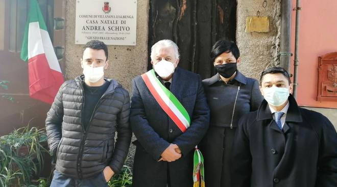 Targa Casa Andrea Schivo