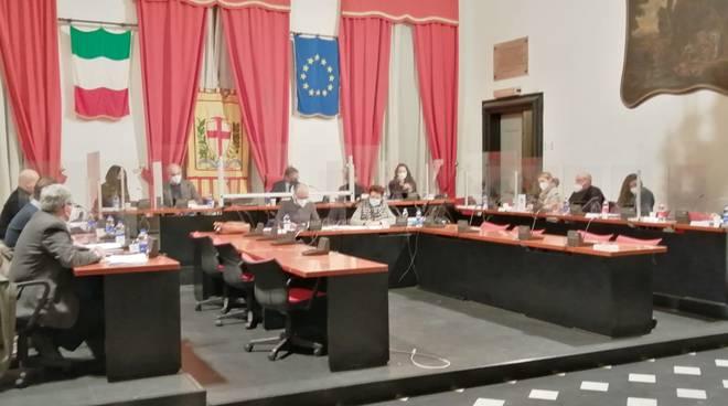 Albenga Consiglio comunale covid