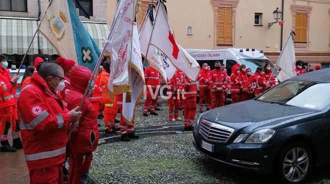 Il funerale di Marco Massone