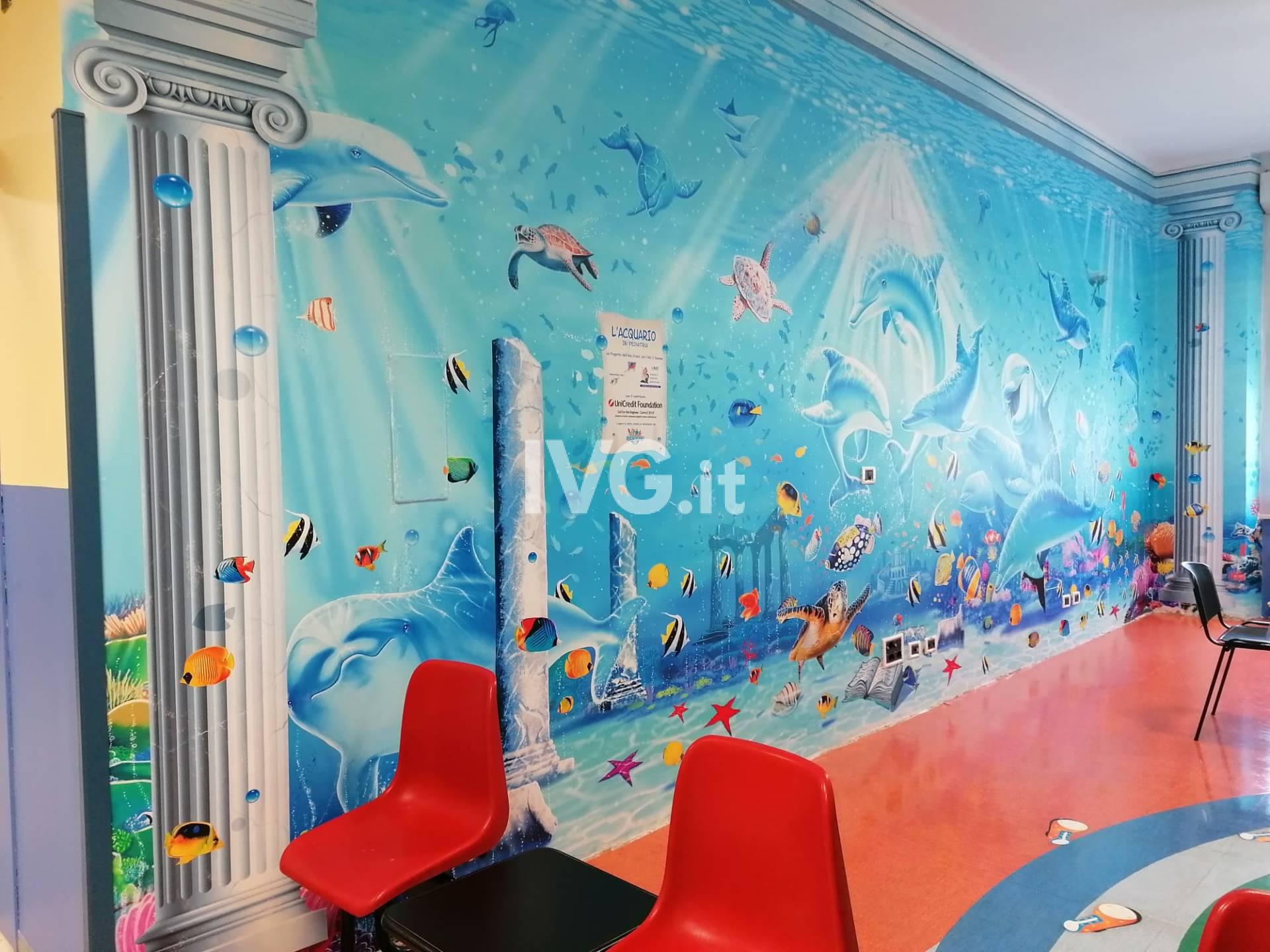 """Il progetto """"Ospedali dipinti"""" al San Paolo di Savona"""