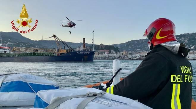 incidente lavoro nave