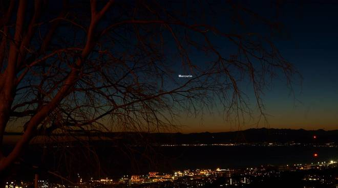 mercurio visibile osservatorio astronomico