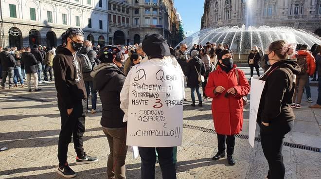 Protesta ristoratori 25 gennaio