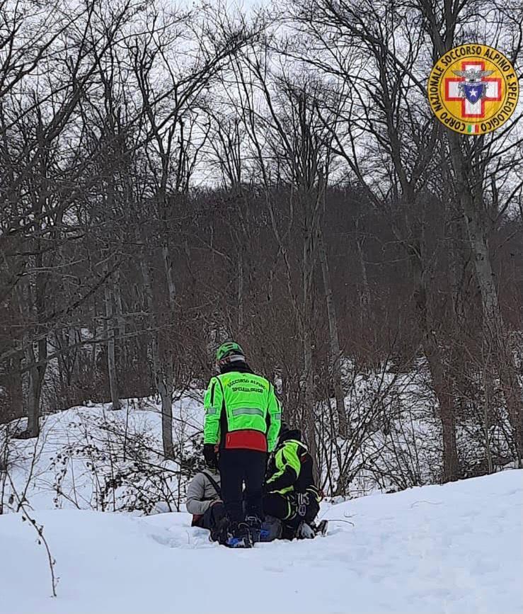 ricerca biker dispersi