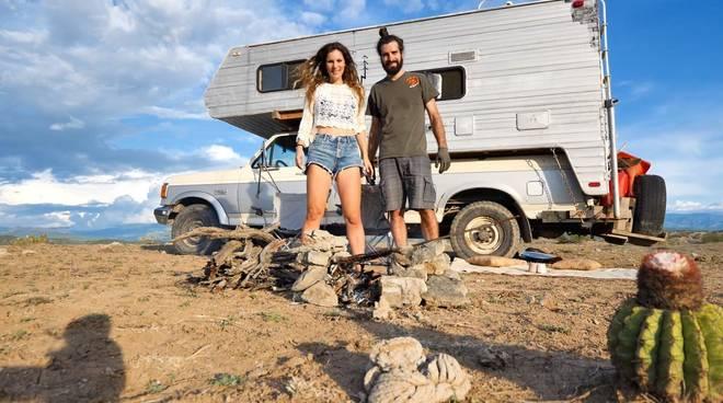 Sara Bertagnolli e Luca Sguazzini esploratori continente americano
