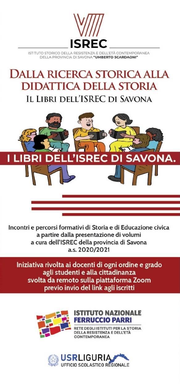 """Savona """"I libri dell'ISREC"""" evento formazione"""