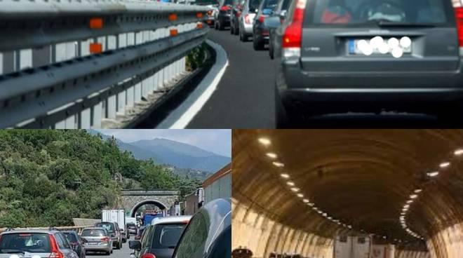 Traffico autostrade Vaccarezza