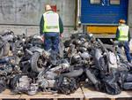 Traffico motocicli rubati: operazione al porto di Pra'