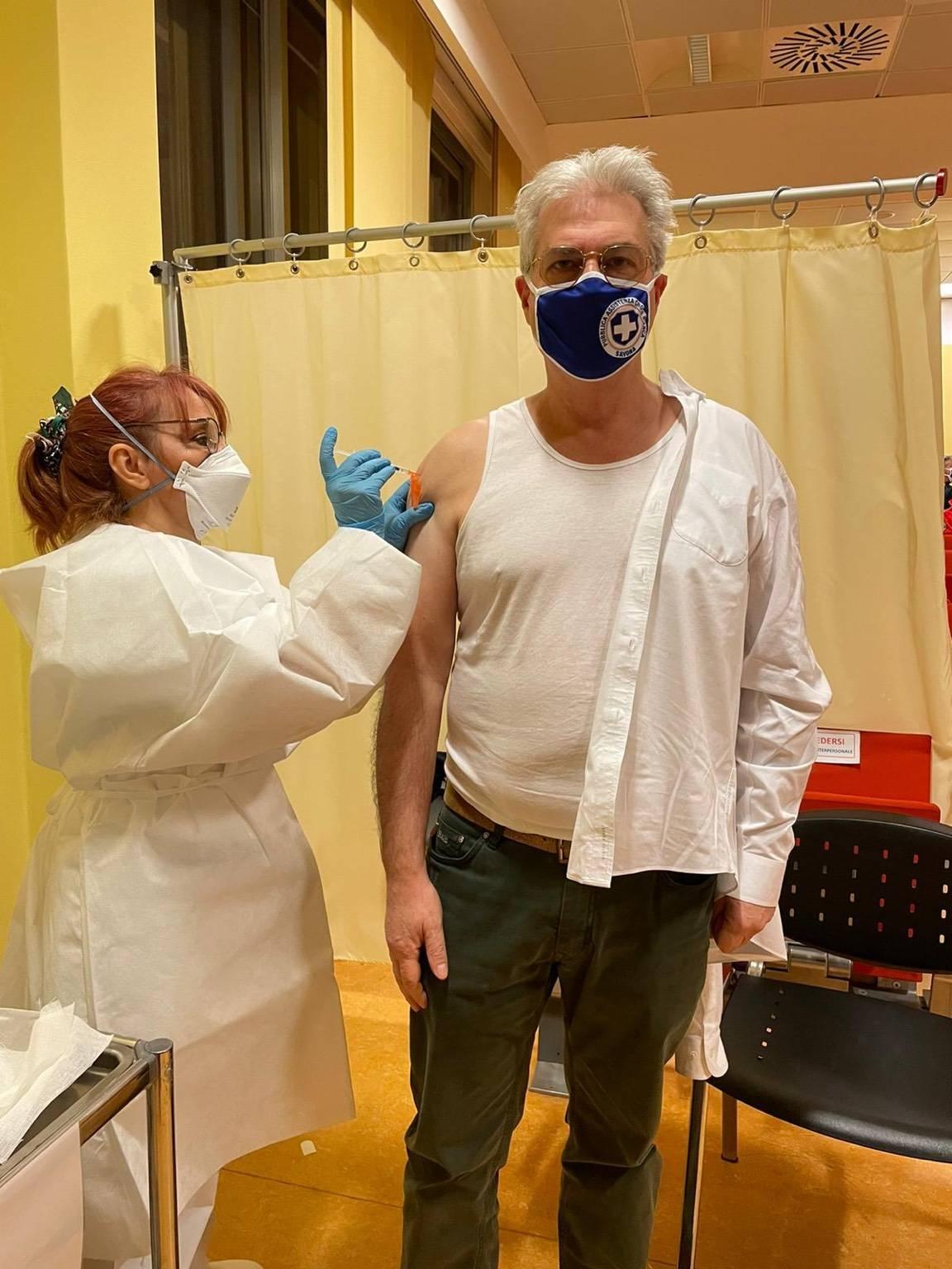 Vaccino volontario Croce Bianca Savona