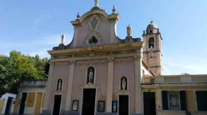 Varazze chiesa parrocchia san Nazario e Celso