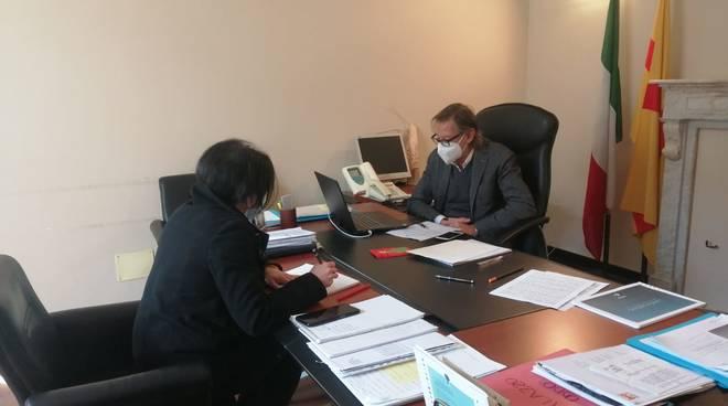 Videoconf ripresa scuole Albenga