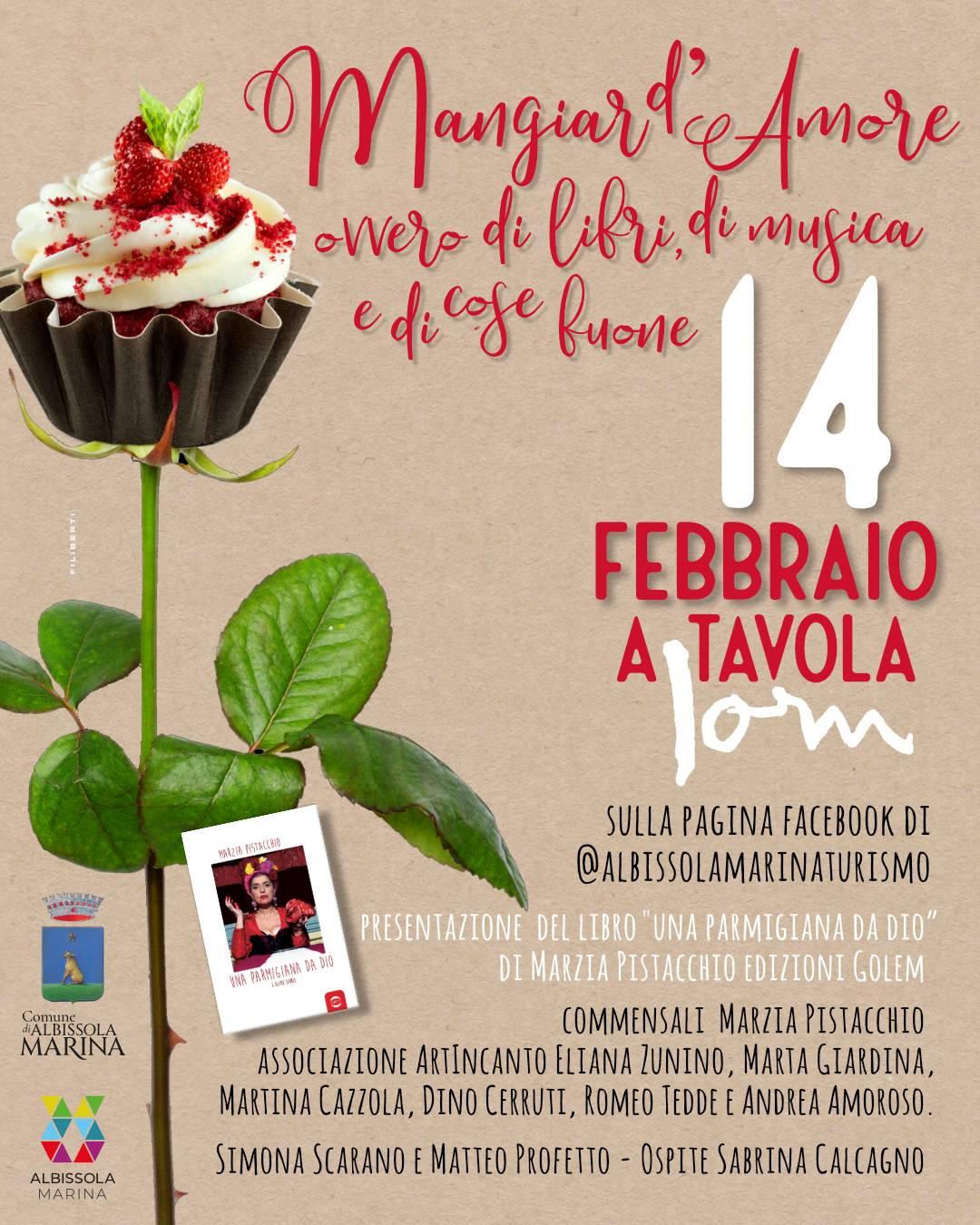 "Albissola Marina ""Mangiar d'amore"" Casa Jorn Marzia Pistacchio"