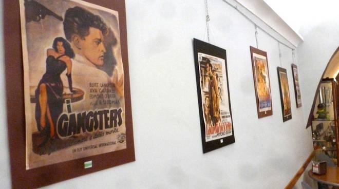 Ceriale mostra locandine cinematografiche collezionista Virgilio Guadalupi