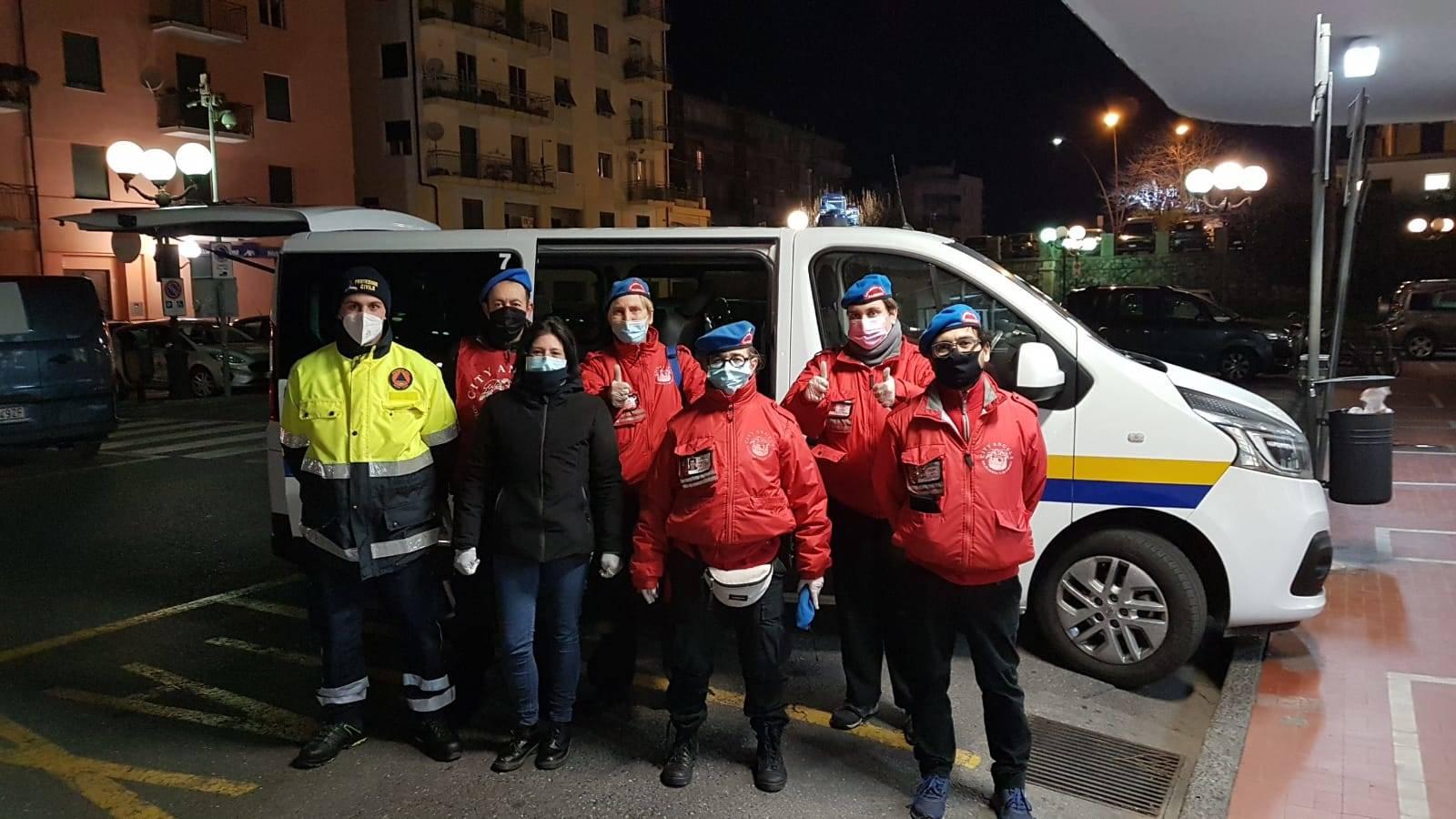City Angels protezione civile albenga