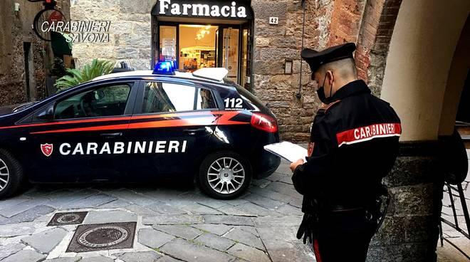 controlli carabinieri albenga centro storico