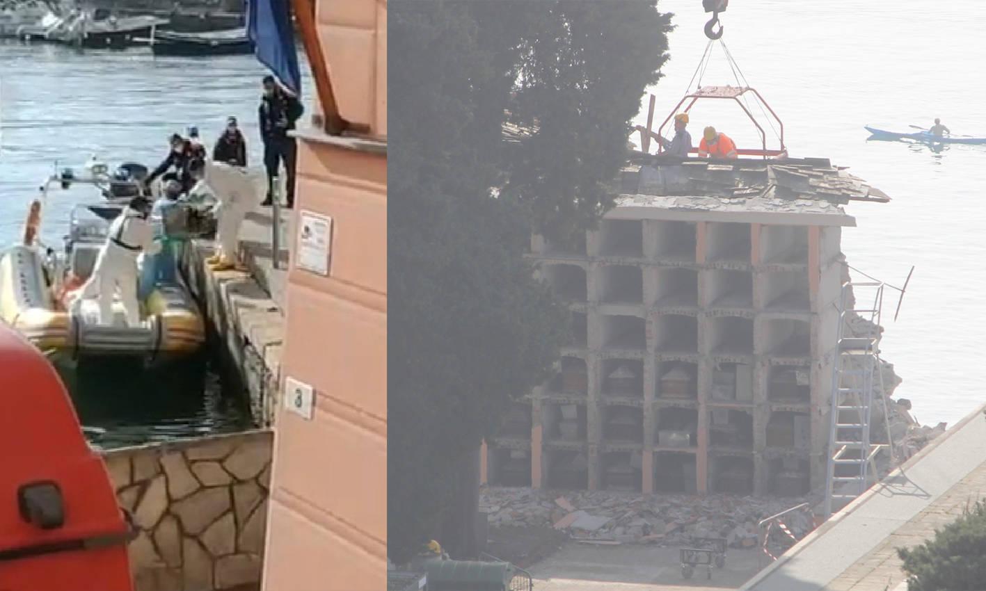 crollo cimitero camogli recupero e demolizioni