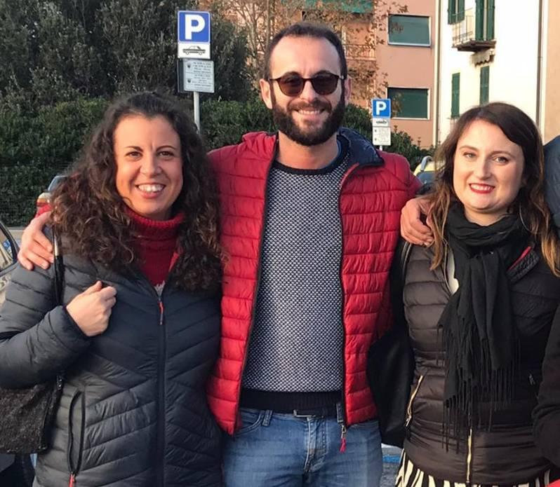 Luca Ottonello Romina Scala Chiara D'Angelo