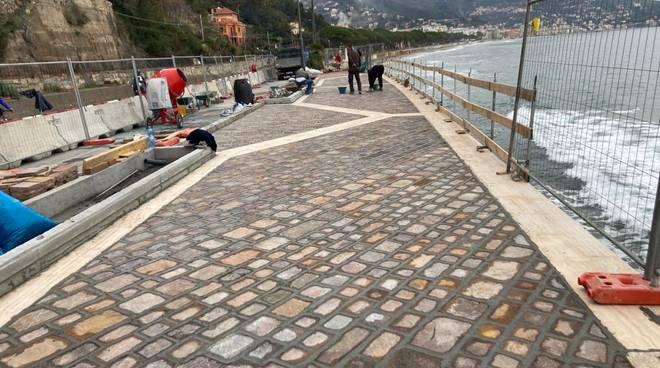 Alassio Lavori passeggiata ciccione