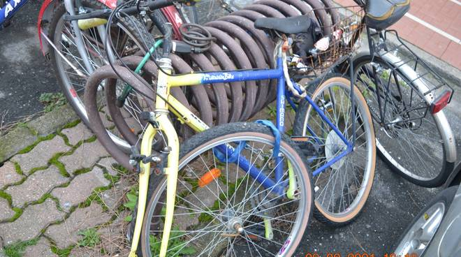 Bici Abbandonate Albenga