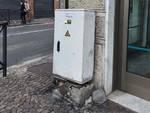 centralina semaforo piazza del popolo Albenga