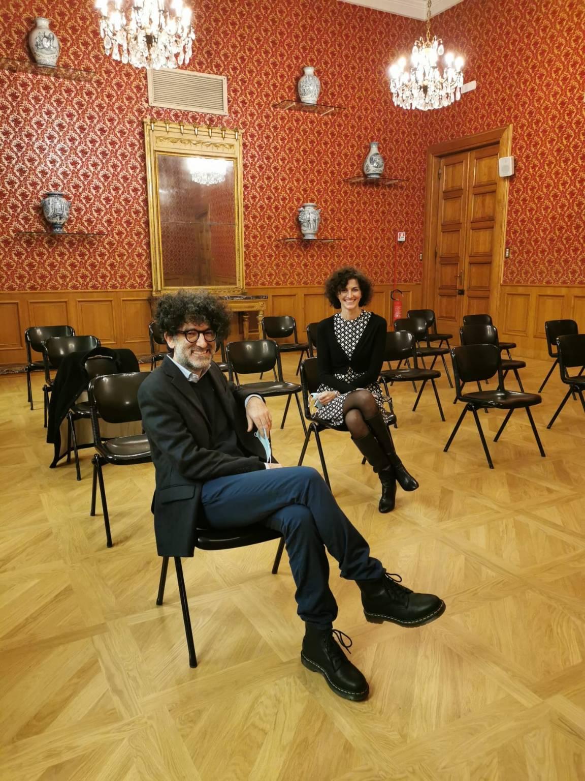 Sala Rossa Savona Restaurata