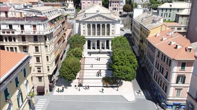 Restyling Piazza Diaz Savona