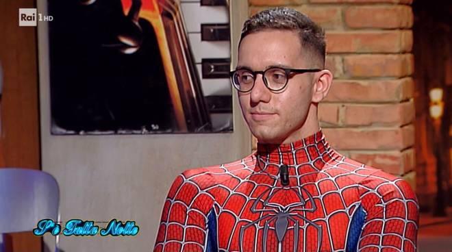 spiderman Mattia Villardita rai 1