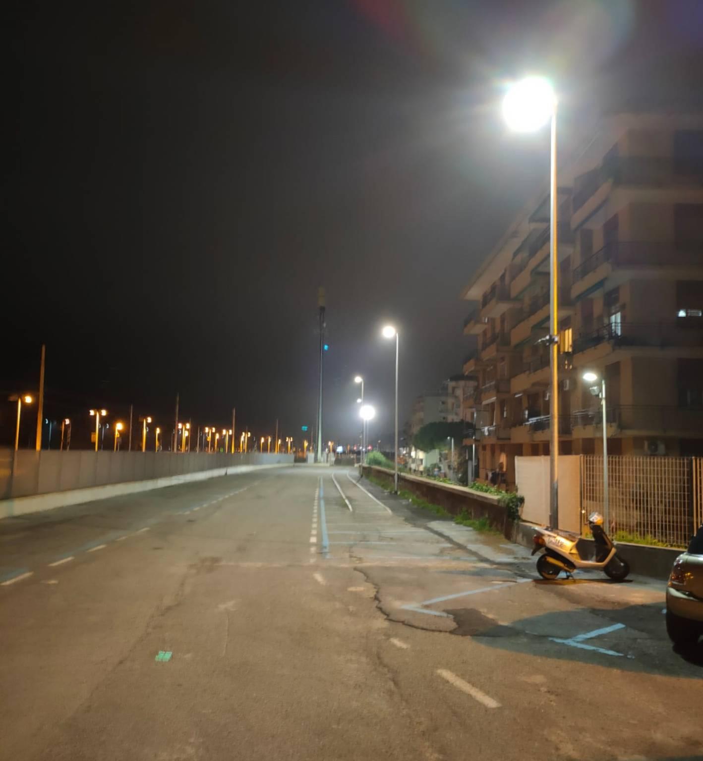illuminazione parcheggio loano