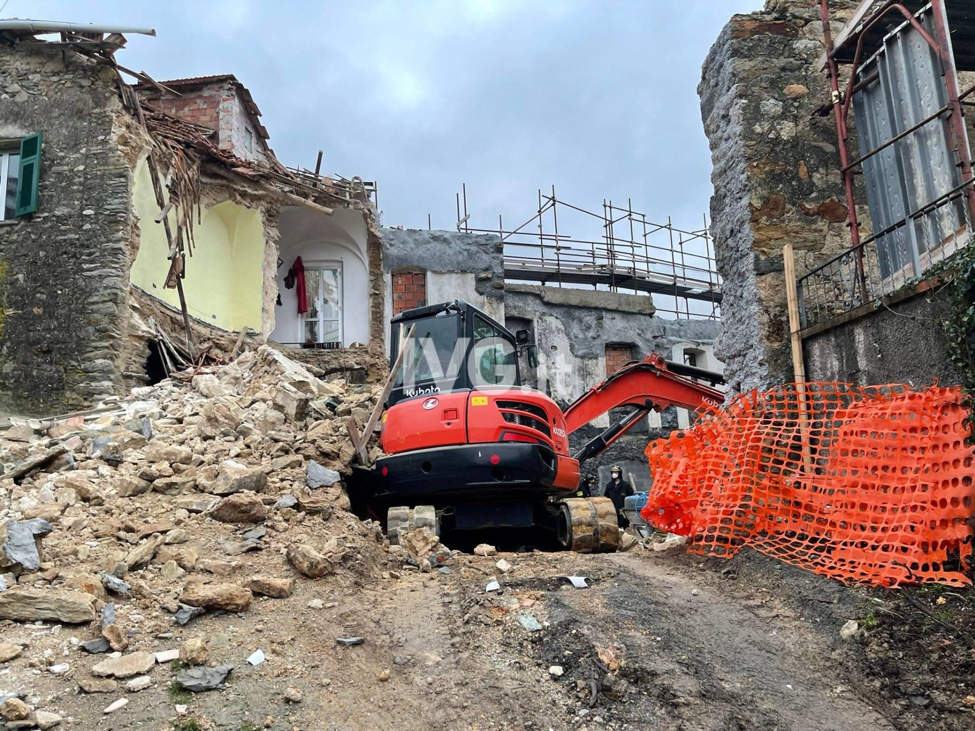 Incidente in un cantiere edile a Tovo