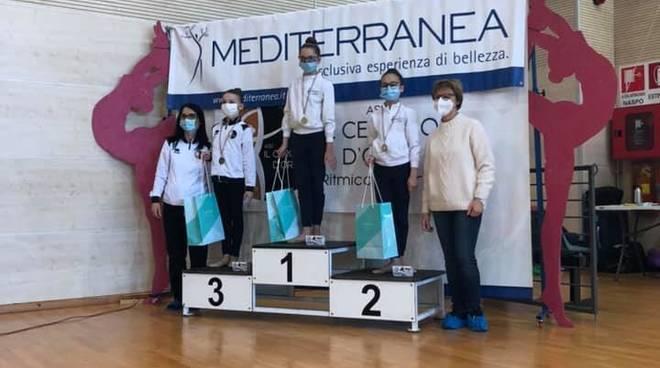 La Ginnastica Ligure Albenga al campionato regionale Silver