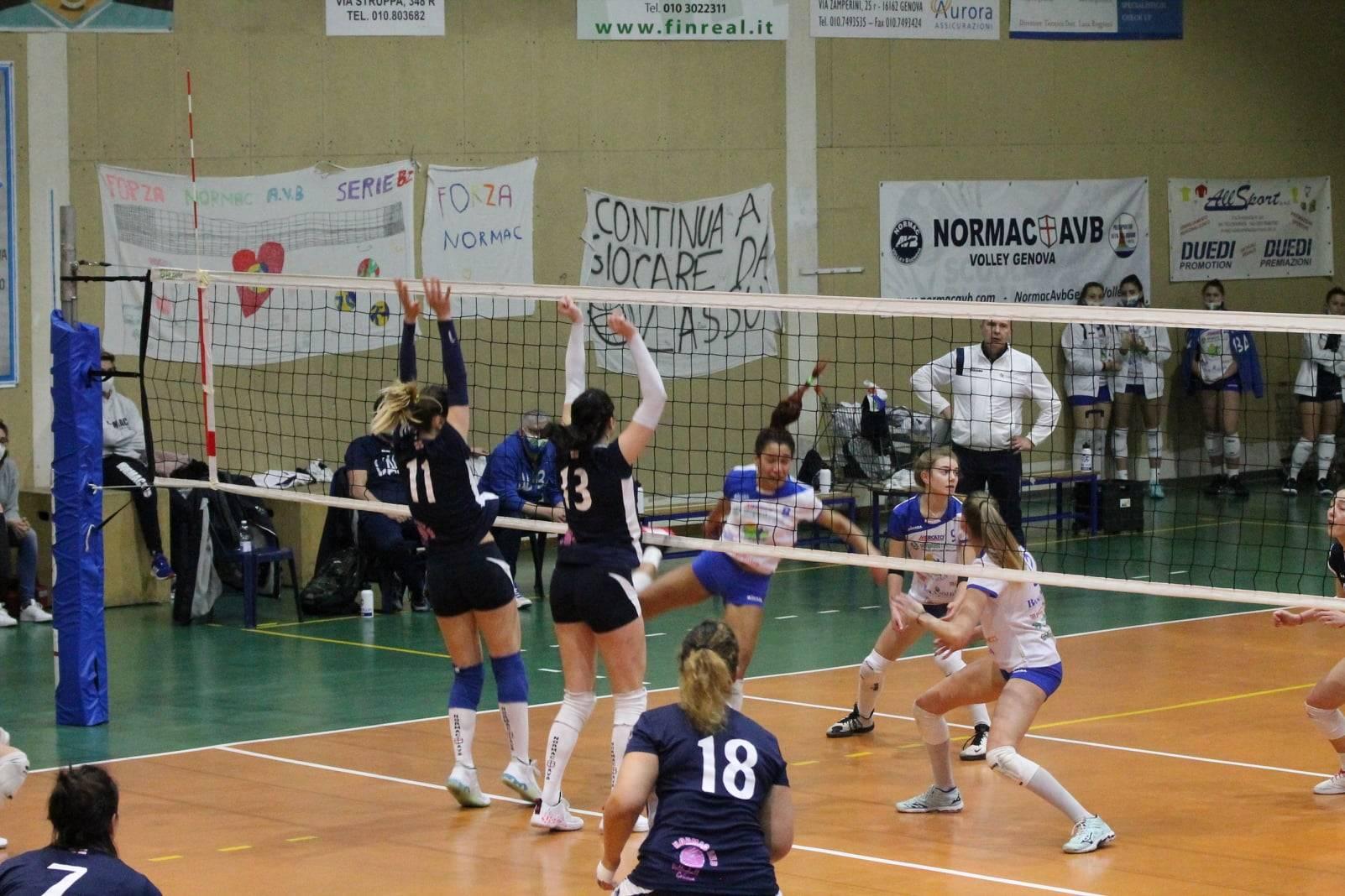 Normac AVB vs L'Alba Volley