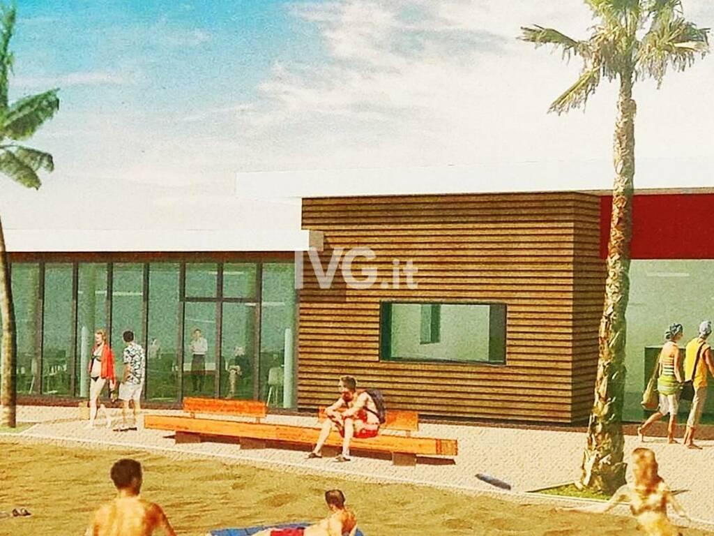 progetto spiaggia zinola