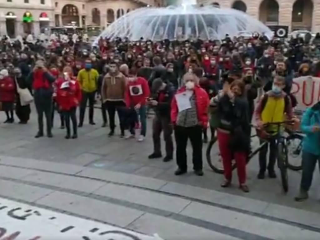Protesta lavoratori dello spettacolo 23 febbraio