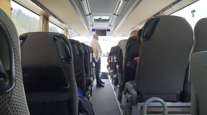 protesta ristoratori autobus generica pullman