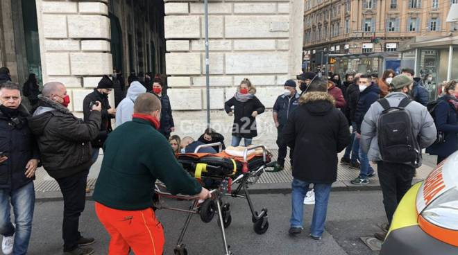 protesta ristoratori genova