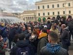 protesta ristoratori piazza de ferrari