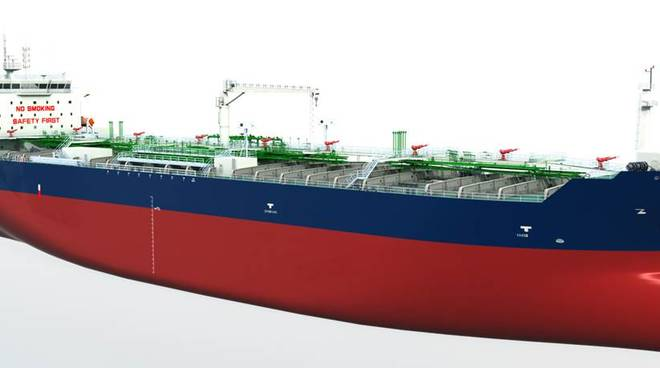 rina nave metanolo e ammoniaca