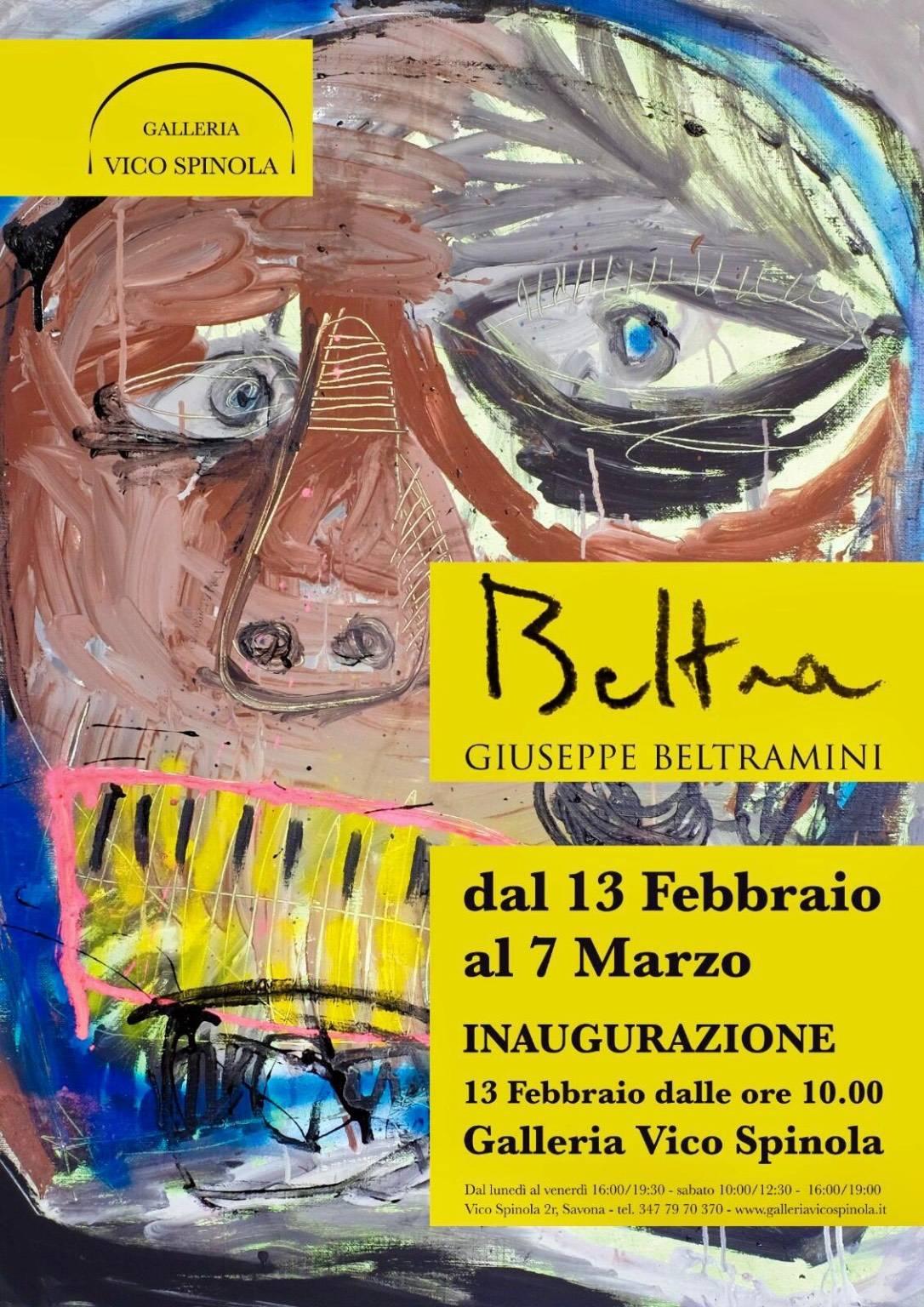 "Savona ""Beltra"" mostra Giuseppe Beltramini Galleria Vico Spinola"