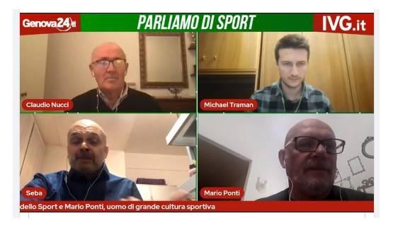 Sebastiano Vernazza e Mario Ponti
