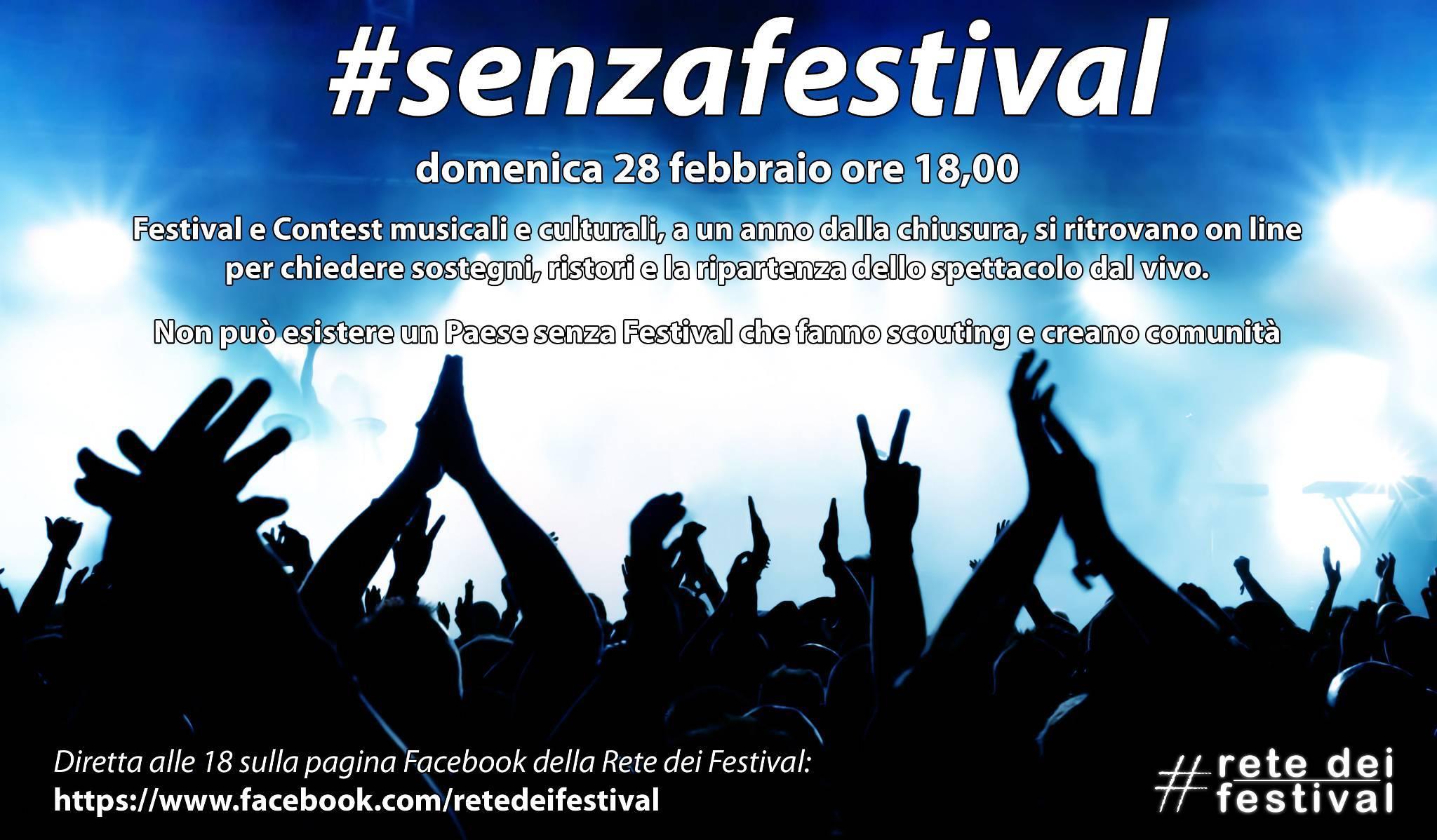 #senzafestival