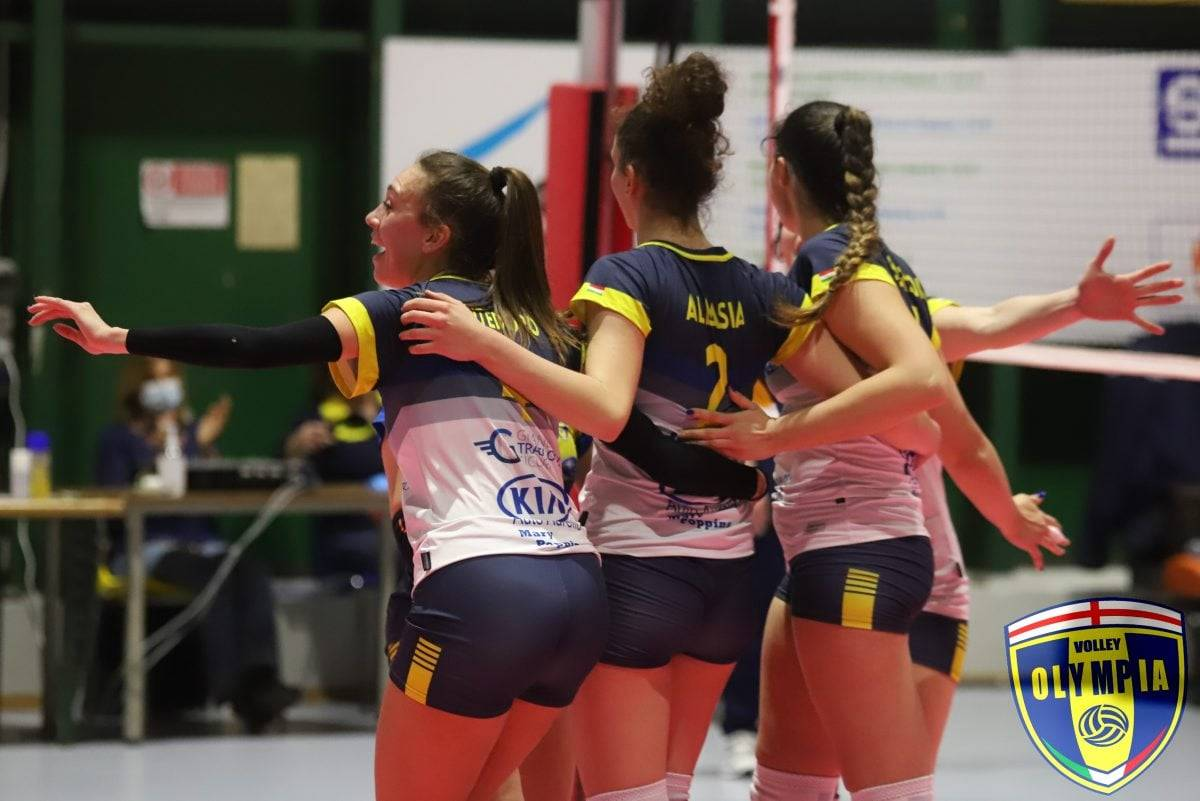 Serie B1: PSA Olympia vittoriosa sul Blu Volley Quarrata